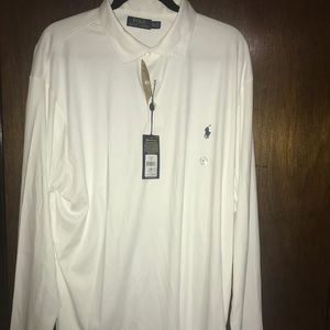 Brand new White Polo long sleeve shirt